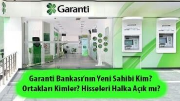 Garanti Bankası kimin 2020