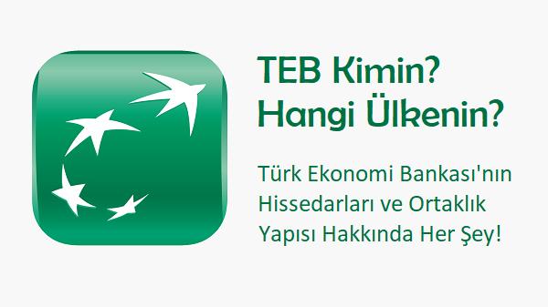 TEB kimin bankası